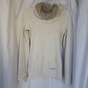 Bench Grey Cotton Cowl Neck Sweater XS